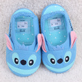 Kids/Baby/Children Winter Blue Stitch Slippers Toddler Home Pantoufle/Chausson/Ciabatte/Pantuflas/Zapatillas For Girls/Boys