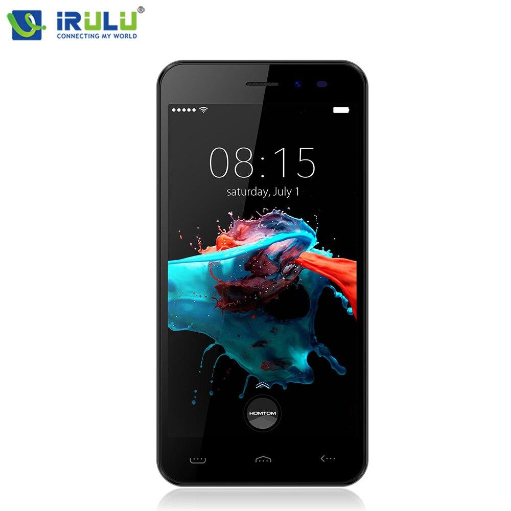 HOMTOM HT16 WIFI Cellphone 8 9mm Ultra Slim 3000mAh Andriod 6 0 Mobile Phone 5 Inch