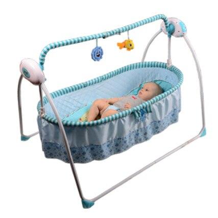 Baby Schommel Bed.Gratis Verzending Primi Elektrische Wieg Wieg Baby Shaker
