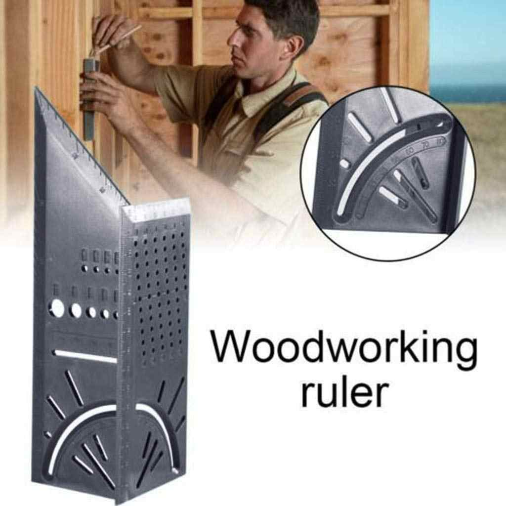 Bois Scribe marque ligne jauge règle de Type T disposition carrée onglet 90 degrés jauge mesure jaugeage charpentier