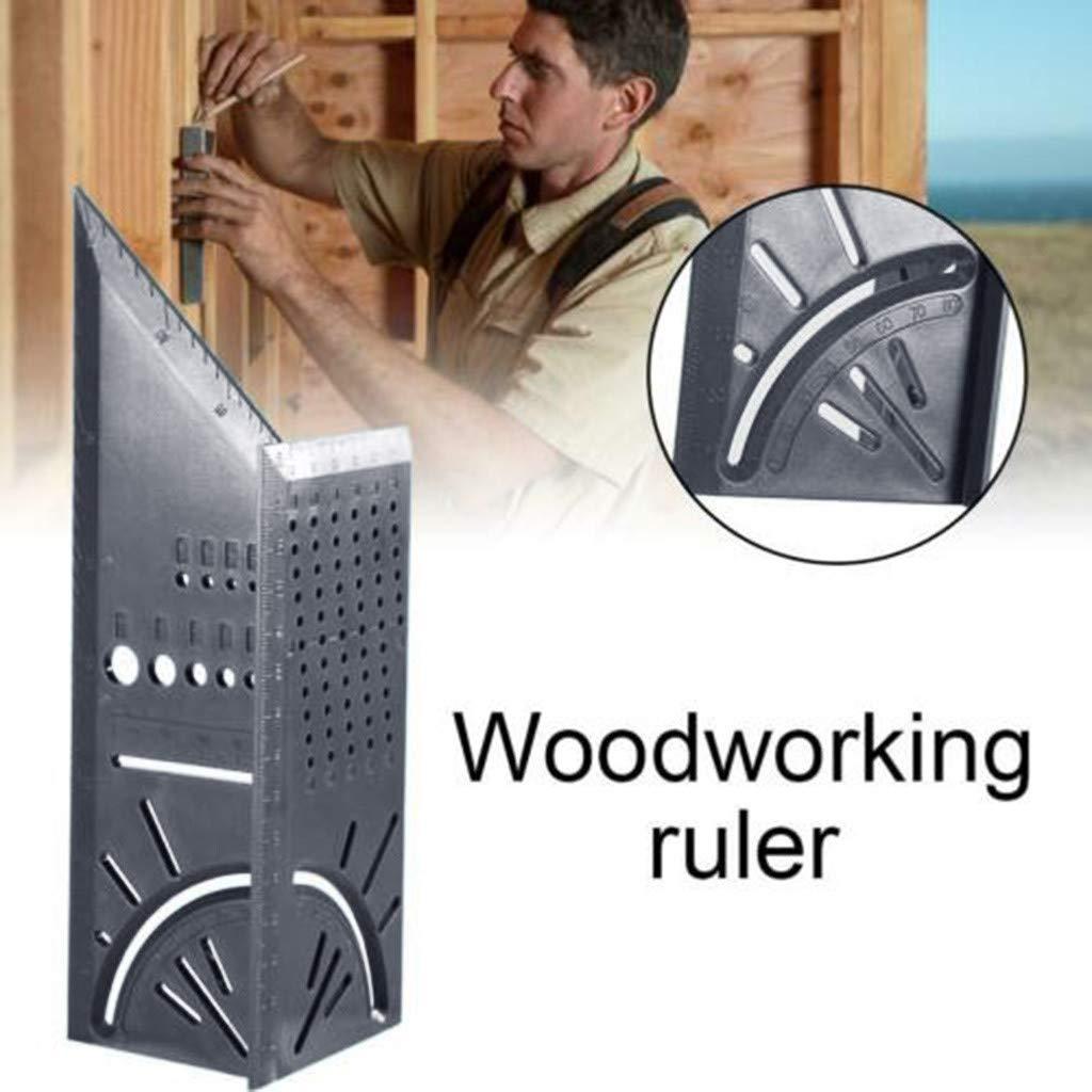 רשימת הקטגוריות הגעת מד חדש לעיבוד עץ מדוד כיכר מדידת שליט 3D מיטר זווית כלי 45 תואר 90 תואר זוויות למדוד שליט (2)