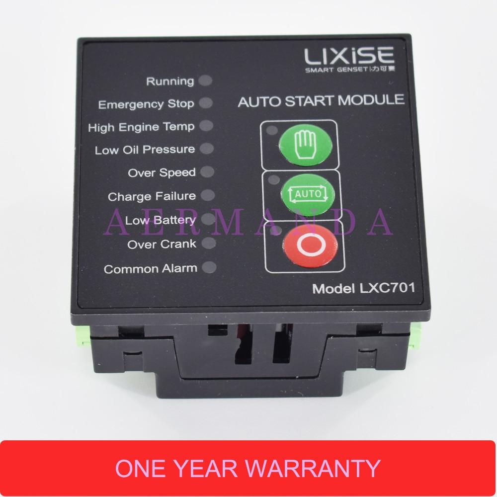 LXC701 controller panel for diesel generator control genset auto start control цена 2017