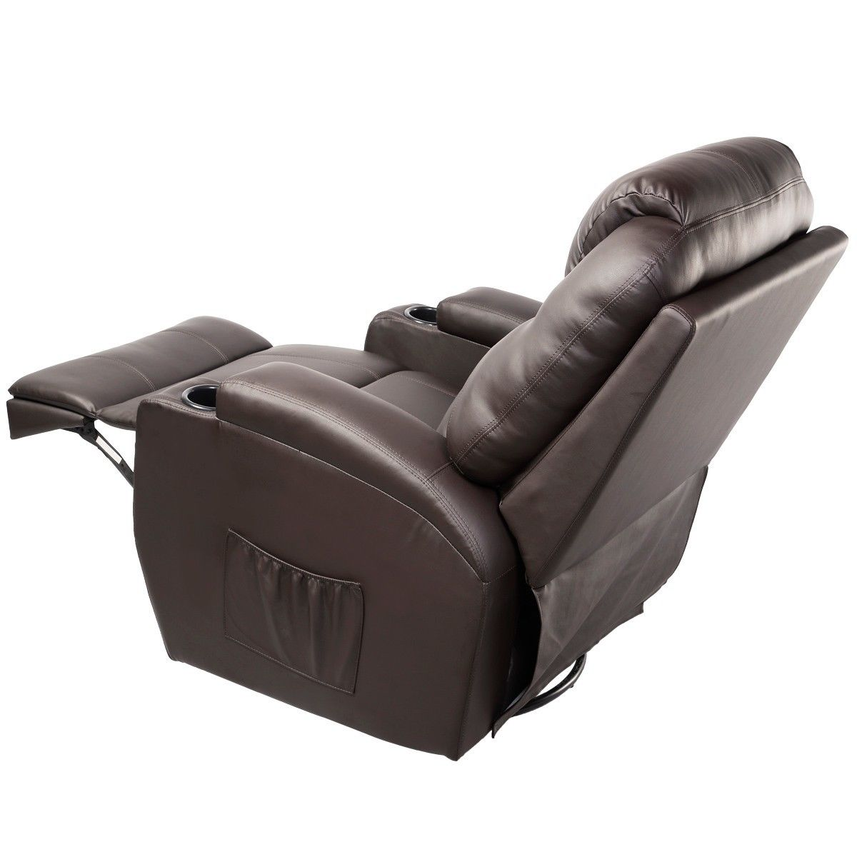 Giantex Ergonomic Massage Sofa Chair Modern Lounge Executive Heated Electric  Massage Chairs With Control Sofas EP19630BN In Living Room Sofas From  Furniture ...