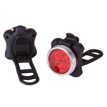 Bike Cycling Lights Waterproof 3 LED 4 Modes Taillight Safety Warning Light USB Rechargeable Rear Bycicle Tail Lamp