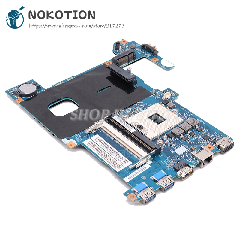 NOKOTION LG4858 UMA MB 11291-1 48.4SG15.011 Laptop Motherboard For Lenovo Ideapad G580 15.6 Inch Main Board SLJ8E HD4000 DDR3