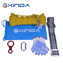 Hinda family lifeline 10mm wire rope core fire protection safety rope escape rope down device