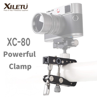 XILETU XC 80 Travel Powerful Clamp Holder Photography Bracket for DSLR