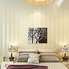 Modern Minimalist Stripe Glitter Wall Paper Non-woven Wallpaper For Living Room Sofa TV Background Wallcovering Papel De Parede