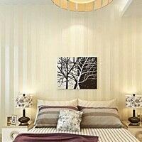 Modern Minimalist Stripe Glitter Wall Paper Non Woven Wallpaper For Living Room Sofa TV Background Wallcovering
