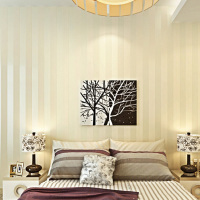 Modern Minimalist Stripe Glitter Wall Paper Non Woven Wallpaper For Living Room Sofa TV Background Wallcovering