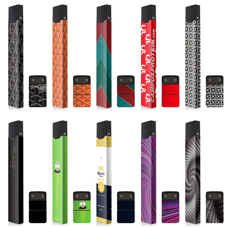 Personality Stickers For JUUL Skin Protector 2.5D Stereo Stickers  Vape Case Cover  Electronic Cigarette Stickers(China)