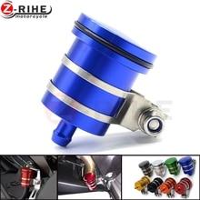 Motorcycle Brake Fluid Reservoir Clutch Tank Oil Fluid Cup FOR SUZUKI HAYABUSA/GSXR1300 GSXR750 GSXR600 1000 B-KING DR 650 S/SE цена и фото