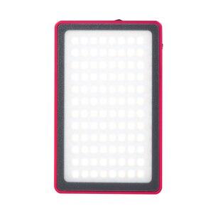 Image 4 - Ultra Dünne Aluminium Dimmbare OLED Display 96 Pcs LED Video Licht mit Batterie CRI96 + Bi Farbe für DSLRs als Aputure AL MX Iwata