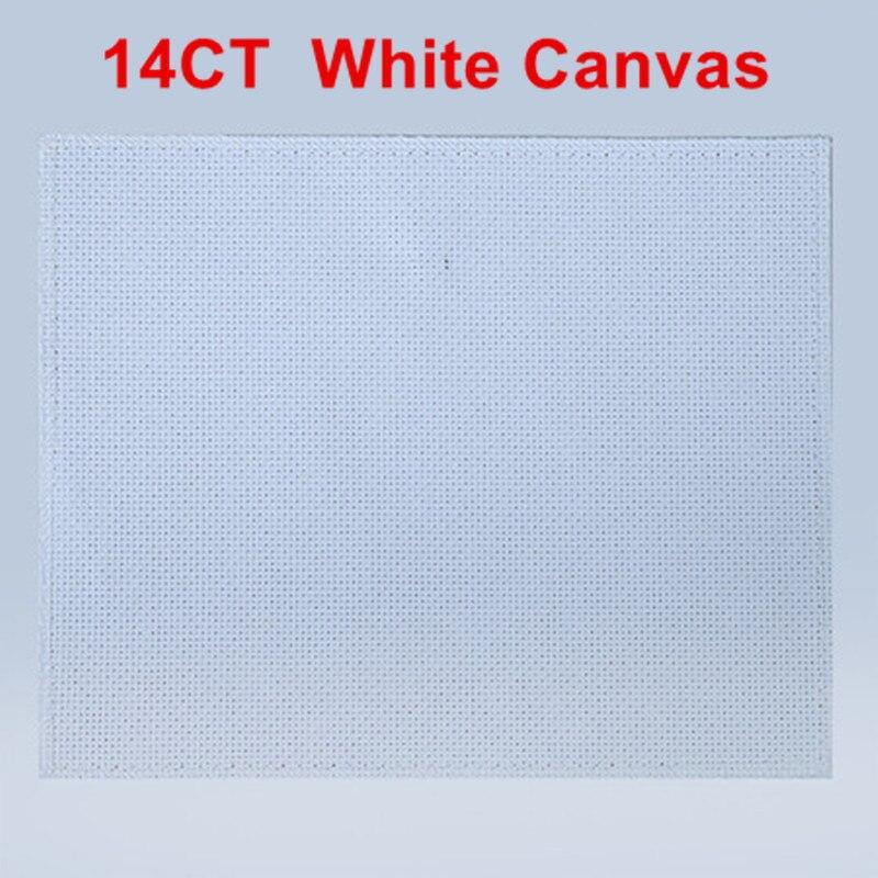cross stitch 14CT white canvas 800