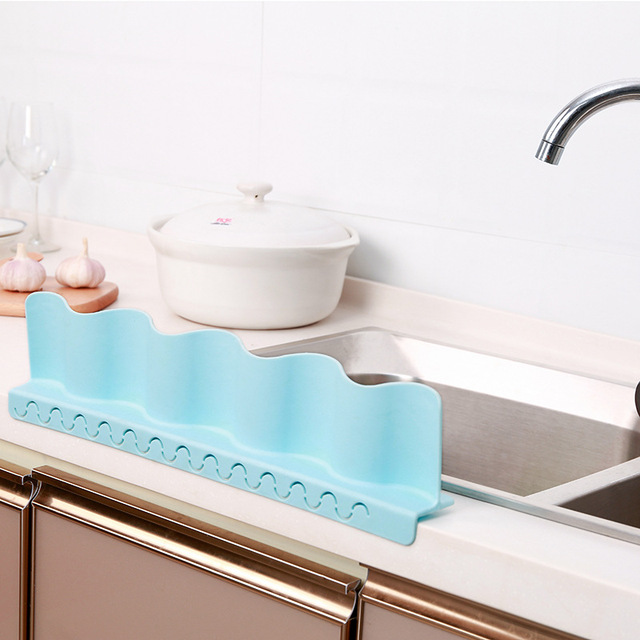 1 Pcs Sink Water Splash Guard Wave Water Splash In Kitchen Water