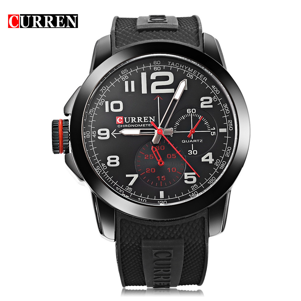 New CURREN Men Wristwatches Famous Band Curren Watch 8182 ...