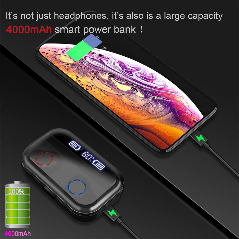 4000mAh-TWS-Wireless-earphone-Bluetooth-5-0-Earphones-Power-Display-Touch-Control-Sport-9D-Stereo-Cordless