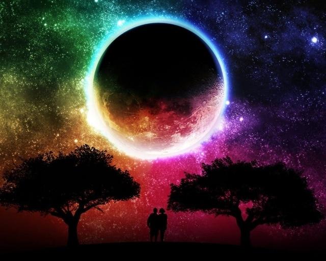 Diy Sternenhimmel sternenhimmel 3d diy diamant mit malerei schöne planeten