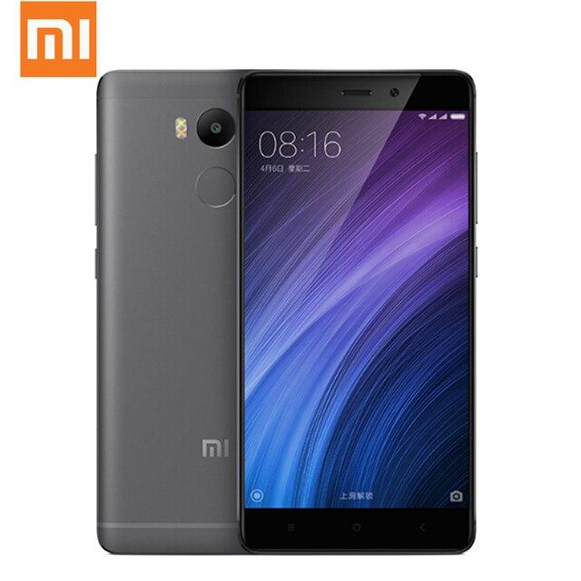 """Оригинальный Xiaomi Redmi 4 Pro смартфон 3 ГБ 32 ГБ 5.0 """"2.5D Экран Snapdragon 625 Octa core 3 ГБ Оперативная память 4100 мАч 13MP Глобальный Встроенная память оты"""