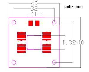 Image 4 - Uv 405nm 40 W led ışık kaynağı lamba paneli bakır plaka entegre ışık boncuk menekşe ANYCUBIC Foton UV DLP 3D yazıcı parçaları