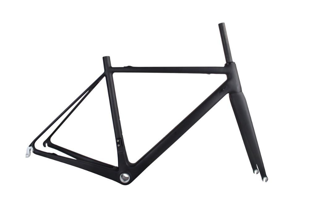 2019 Super Light Road Carbon Bike Frame T1000 Carbon Road Frame FM066 UD Matte
