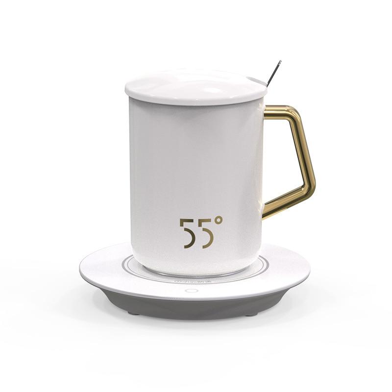 Cerative garder au chaud tasse en céramique réglable température tasse Tasses contrôle température de noël tasses à café tasses Smart