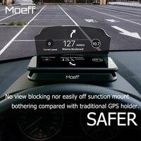 Moeff HUD Carro Universal Suporte Suporte Do Telefone Móvel Suporte Do Telefone Celular de Montagem para o iphone 5 6 7X8 Plus Samsung s6 s8 Xiaomi 4x