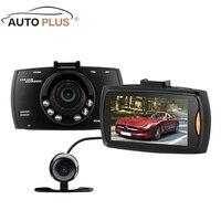 G30B 2 7 FHD Dual Lens Car DVR External Rear Camera Dash Camcorder Parking Video Recorder
