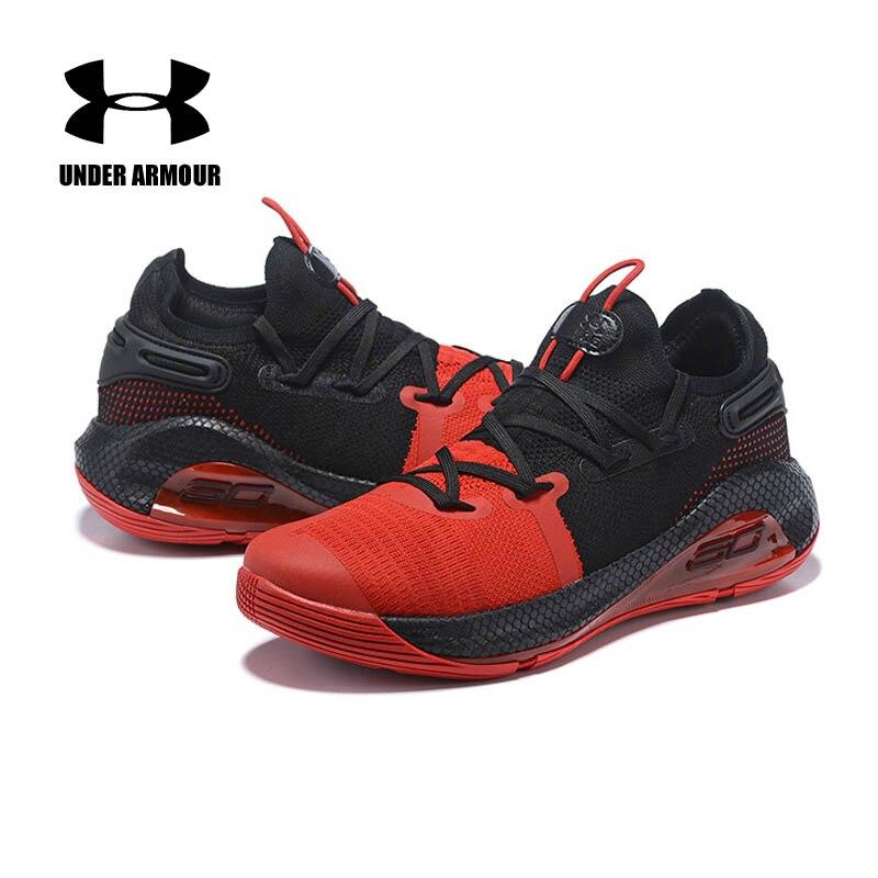 Under Armour hommes Curry 6 chaussures de basket curry botte d'entraînement nouveau coussin athlétique baskets Zapatillas hombre deportiva US7-12