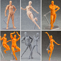8 Style Body Chan Pale Orange Gray Color 13cm Figma She/ he SHF S.H.Figuarts (SHF) PVC Action Figure In Box