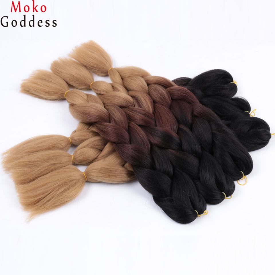Ali Mokogoddess 1pcs Synthetic Crochet Braid Hair