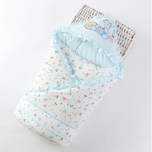 KiDadndy Cute Soft Cotton Sleeping Bag Newborns Envelope For Baby Fashion New Newborn Boys Girls LL36