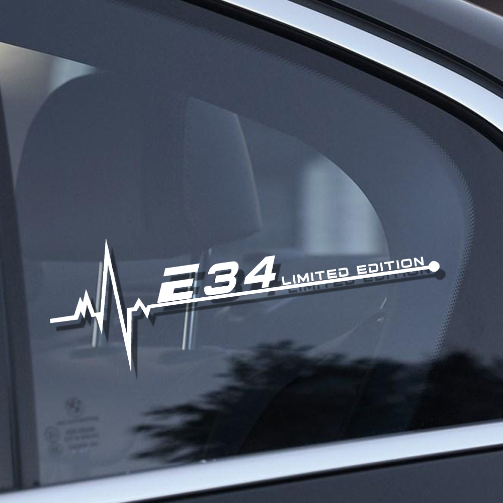 Car Styling Reflective Car Window Decal Stickers For Bmw E28 E30 E34