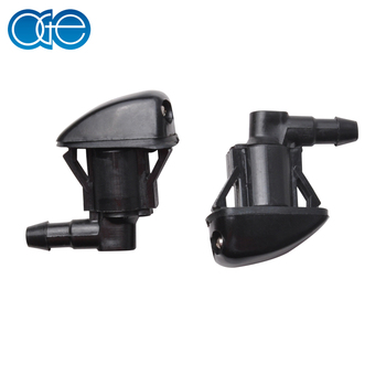 2Pcs Front Wiper Washer Jet Nozzle Spray For 2007-2010 Jeep Grand Cherokee Windshield Washer NOZZLE new OEM 55079049AA