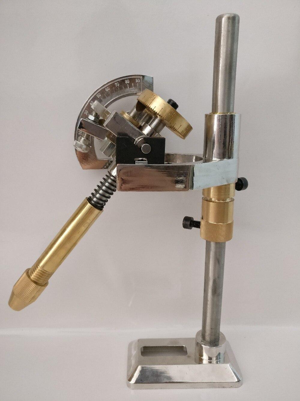 Gem Facettage Machine De Meulage À Facettes manipulateur bijoux jouer angle plat de polissage moulin pierre angles 96 index roues poignée
