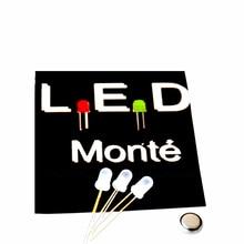 Free shipping 5pcs Superior LED monster illusion light magic tricks