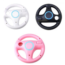 New Hot Selling Kart Racing Game Steering Wheel Controller For Nintendo Wii Accessories 3 Colors