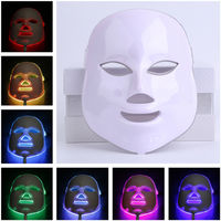 Multi Function Facial Mask Electric Skin PDT Boosts Blood Circulation Relieves Stress On Skin LED Mask