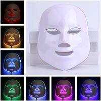 Wielofunkcyjny Twarzy Maska Skóry Elektryczne Zwiększa Krążenie Krwi, Łagodzi Stres na Skóry PDT LED Maska Dla Kobiet Lady prezent FM88