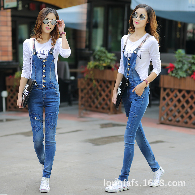 Jeans Rompers For Women 2016 Spring And Autumn Jumpsuits Female ...
