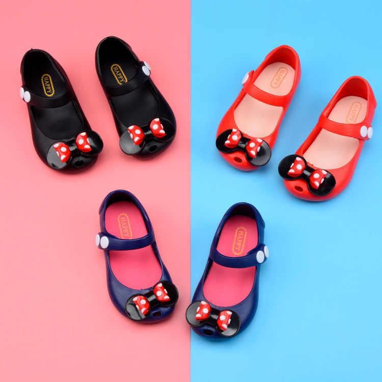 2019 новые летние 8 дизайн для девочек Нескользящие сандалии детей Becch обувь маленьких малышей обувь на плоской подошве сандалии принцессы с бантом