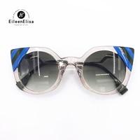 Fashion Cat Eye Sunglasses 2018 High Quality Brand Design Vintage Luxury Women Sunglasses with Original Packing