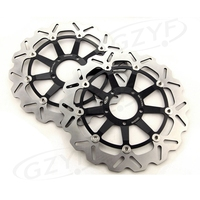 Motorcycle Front Brake Disc Rotor Set For Ducati 749 749R 848 EVO 999 BIPOSTO 999S R