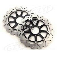 Motorcycle Front Brake Disc Rotor Set For Ducati 749 749R 848 EVO 999 BIPOSTO 999S R