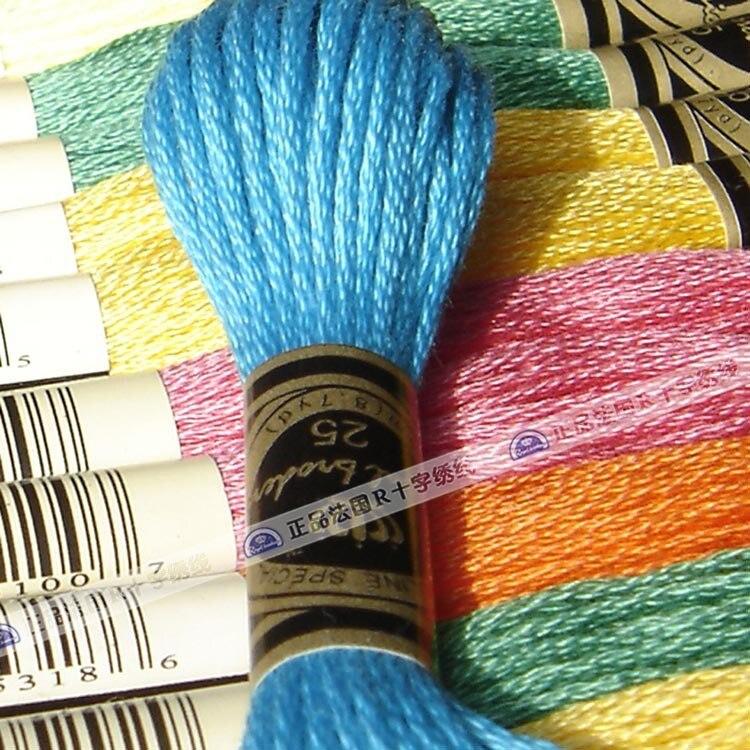 Good Quality Embroidery Thread Cross Stitch R Thread Similar Dmc 1