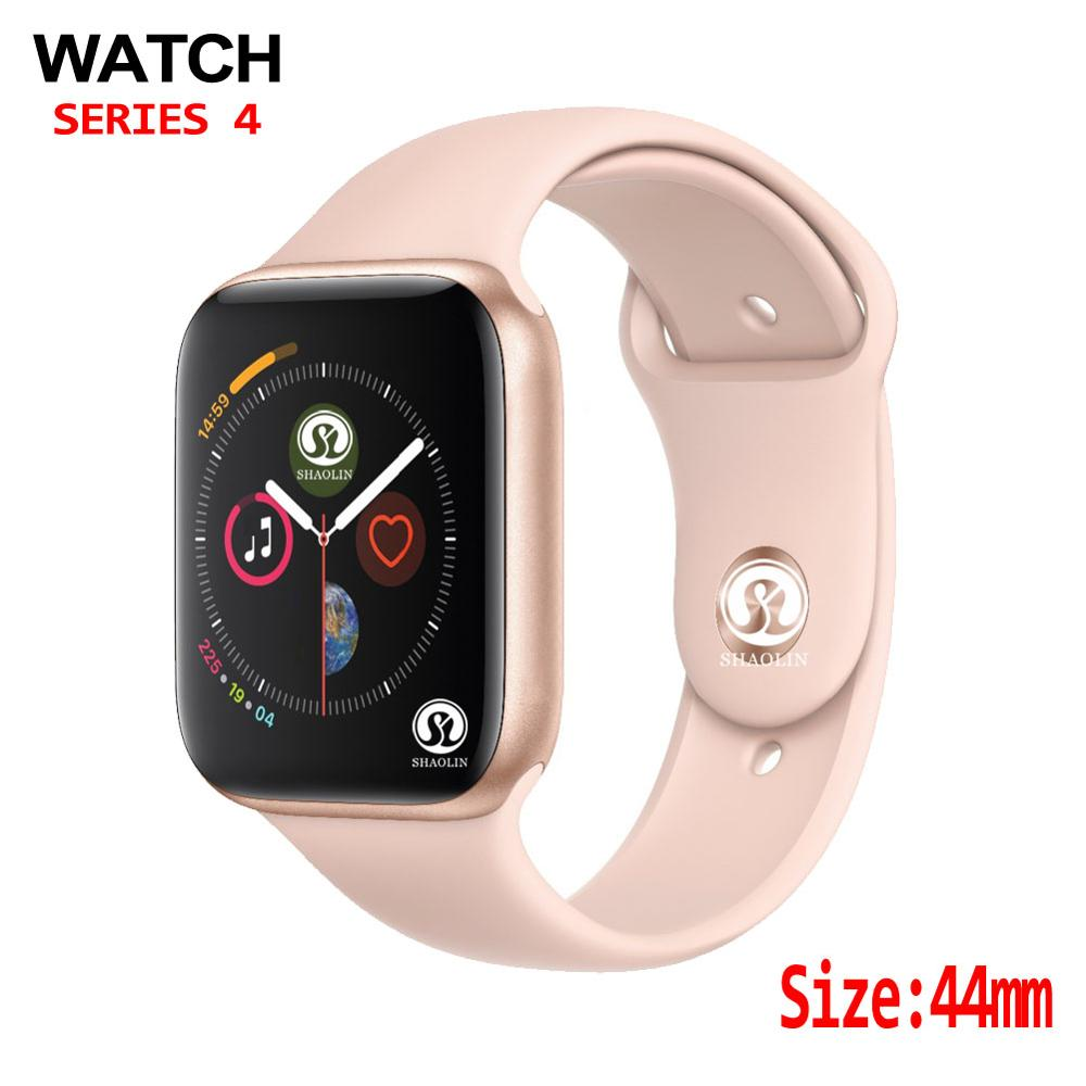 44mm Bluetooth Smart Watch Series 4 1:1 SmartWatch Case For Apple Watch IOS Iphone Android Phone With Heart Rate ECG Pedometer