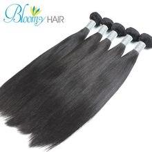 FREE SHIPPING Peruvian Virgin Hair Straight Hair Extensions 3 bundles Virgin Hair Weave Stema Hair Product