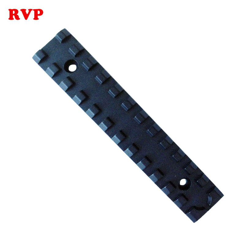 High Grade Aluminium Rails For PCP Paintball Scope Flashlight Reddot Housing Black 5 Inch Free Shipping
