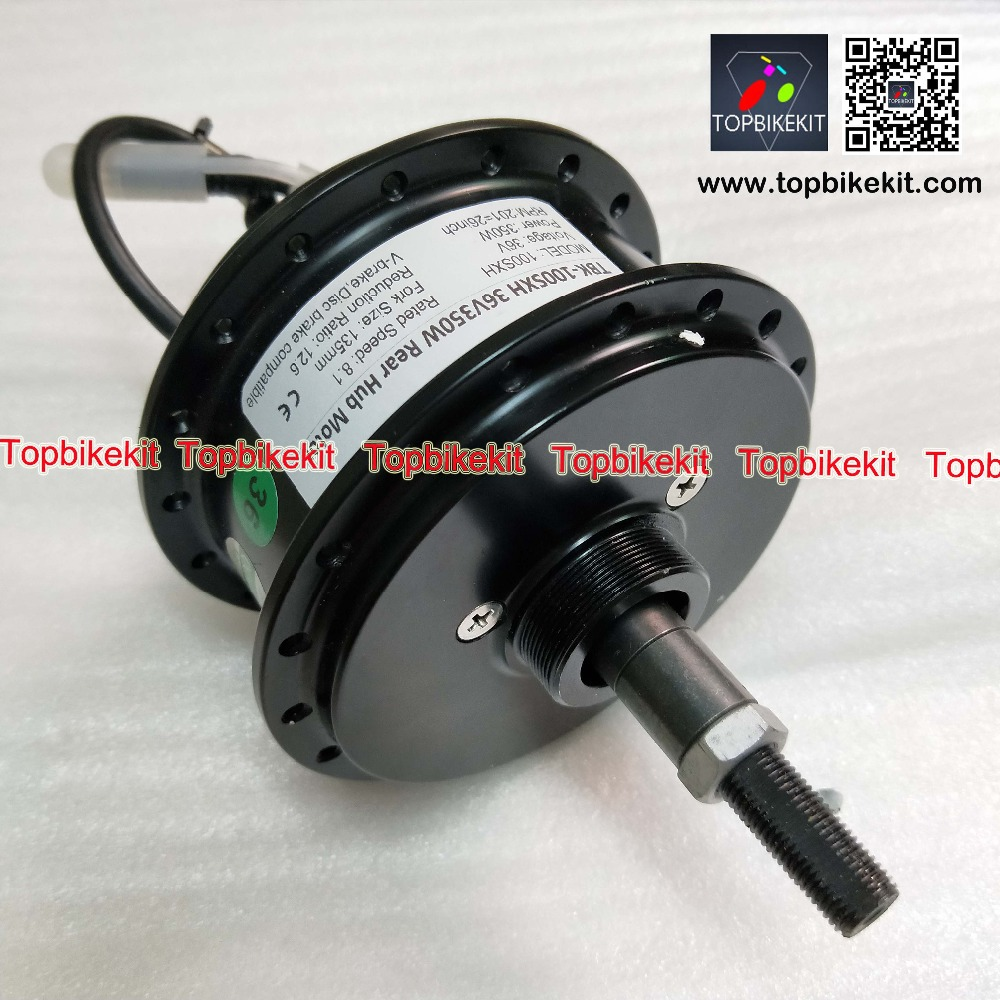 Ebike 36V350W rear hub motor AKM 100H 36V350W rear motor RPM 201 260 328 fork size