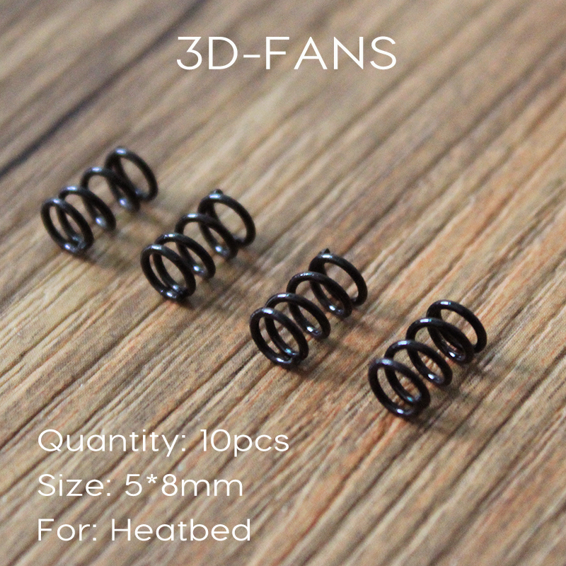 10pcs 3D Printer Platform Supporting Spring Diameter 5mm Length 8mm Inelastic State Free Shipping free shipping 10pcs 100